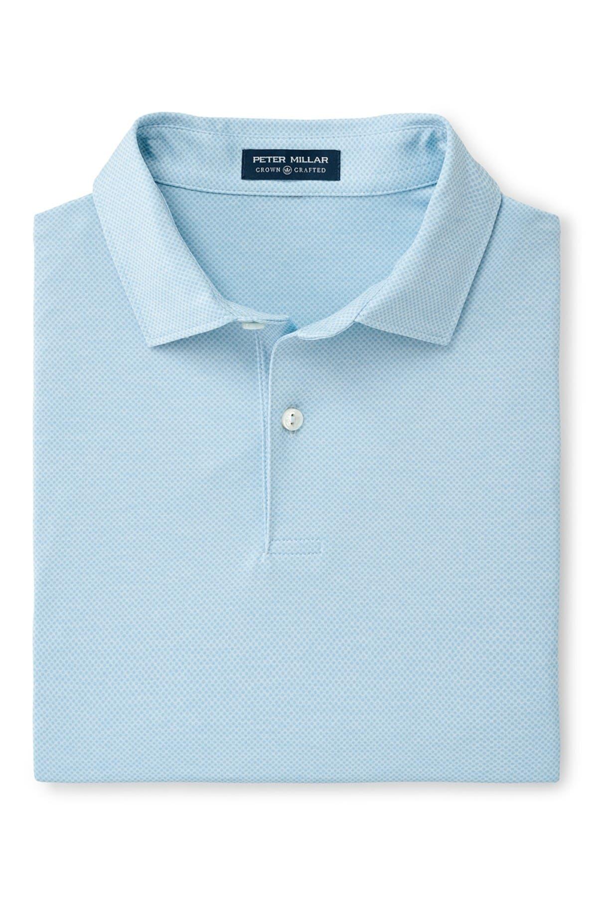 Image of Peter Millar Sean Polka Dot Print Shirt
