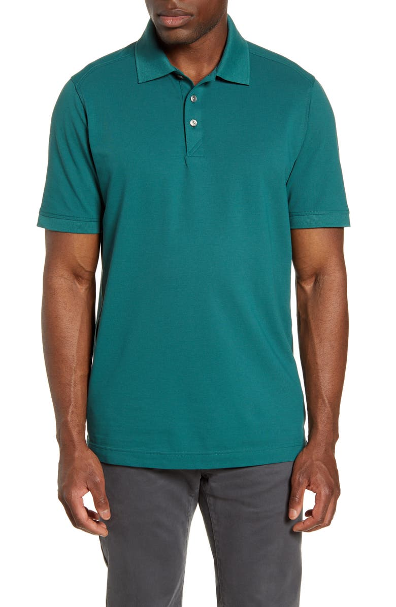 CUTTER & BUCK Advantage Golf Polo, Main, color, SEAWEED