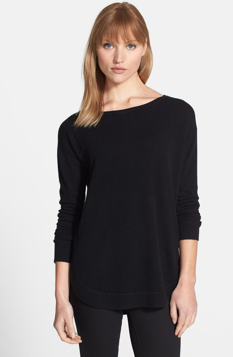 a77024f635 Nordstrom Collection Shirttail Cashmere Sweater | Nordstrom