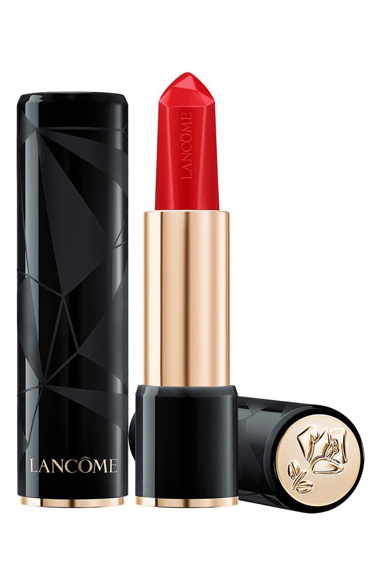 LANCÔME L'Absolu Rouge Ruby Cream Lipstick, Main, color, 01 BAD BLOOD RUBY