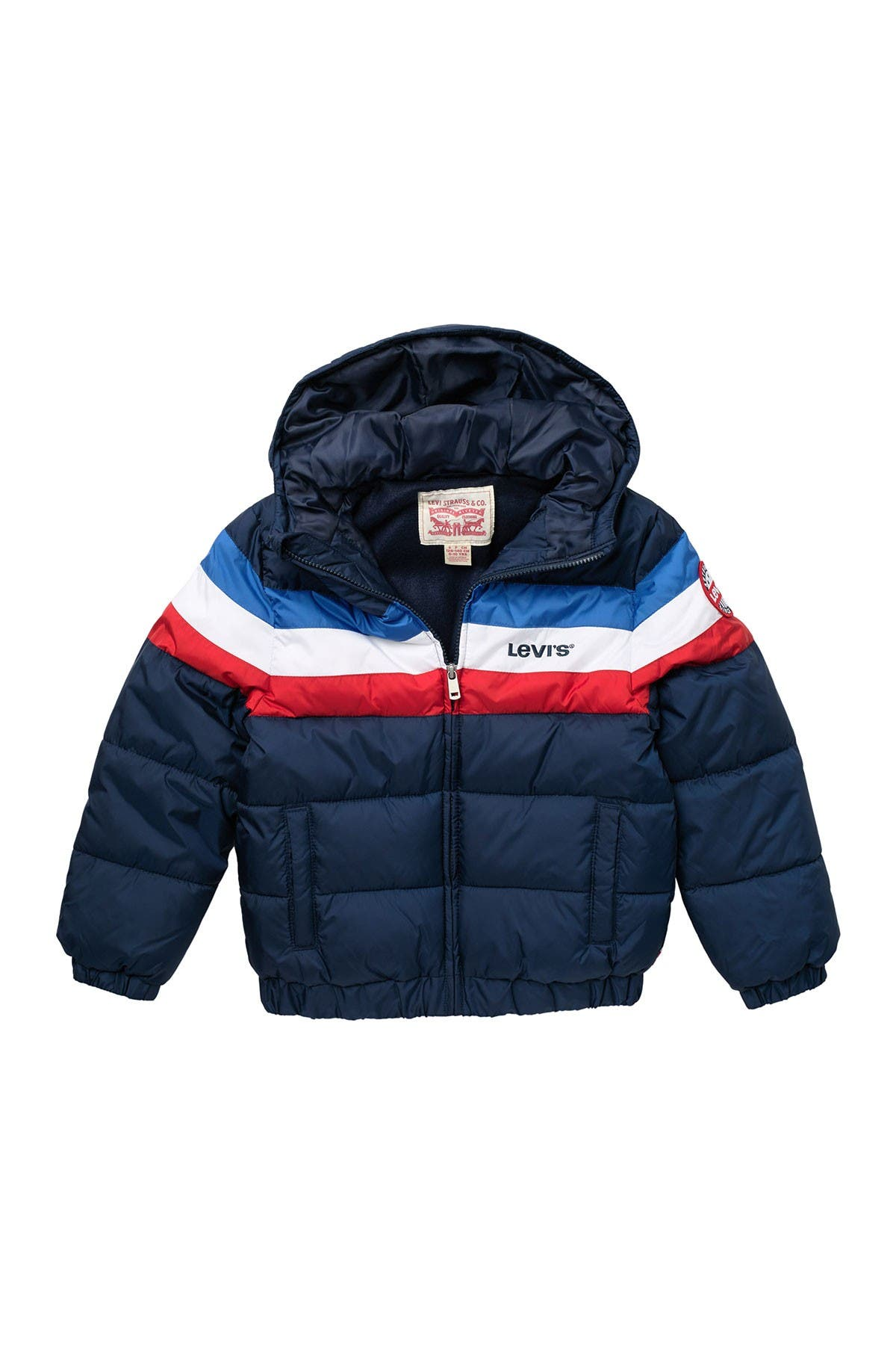 Image of Levi's Colorblock Puffer Jacket