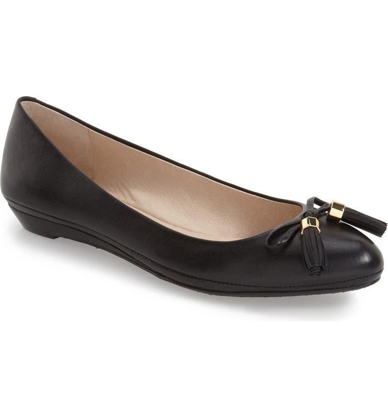 LOUISE ET CIE 'Aradella' Pointy Toe Flat, Main, color, 002