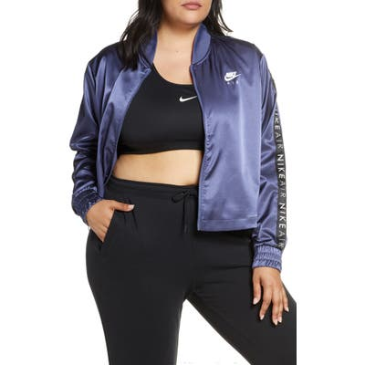 Plus Size Nike Sportswear Air Satin Track Jacket