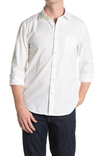 Image of 7 For All Mankind First Class Cast Away Collared Shirt