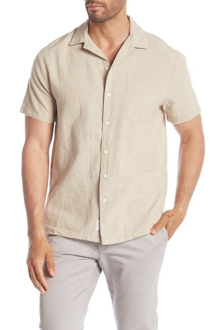 Image of Onia Vacation Short Sleeve Regular Fit Shirt