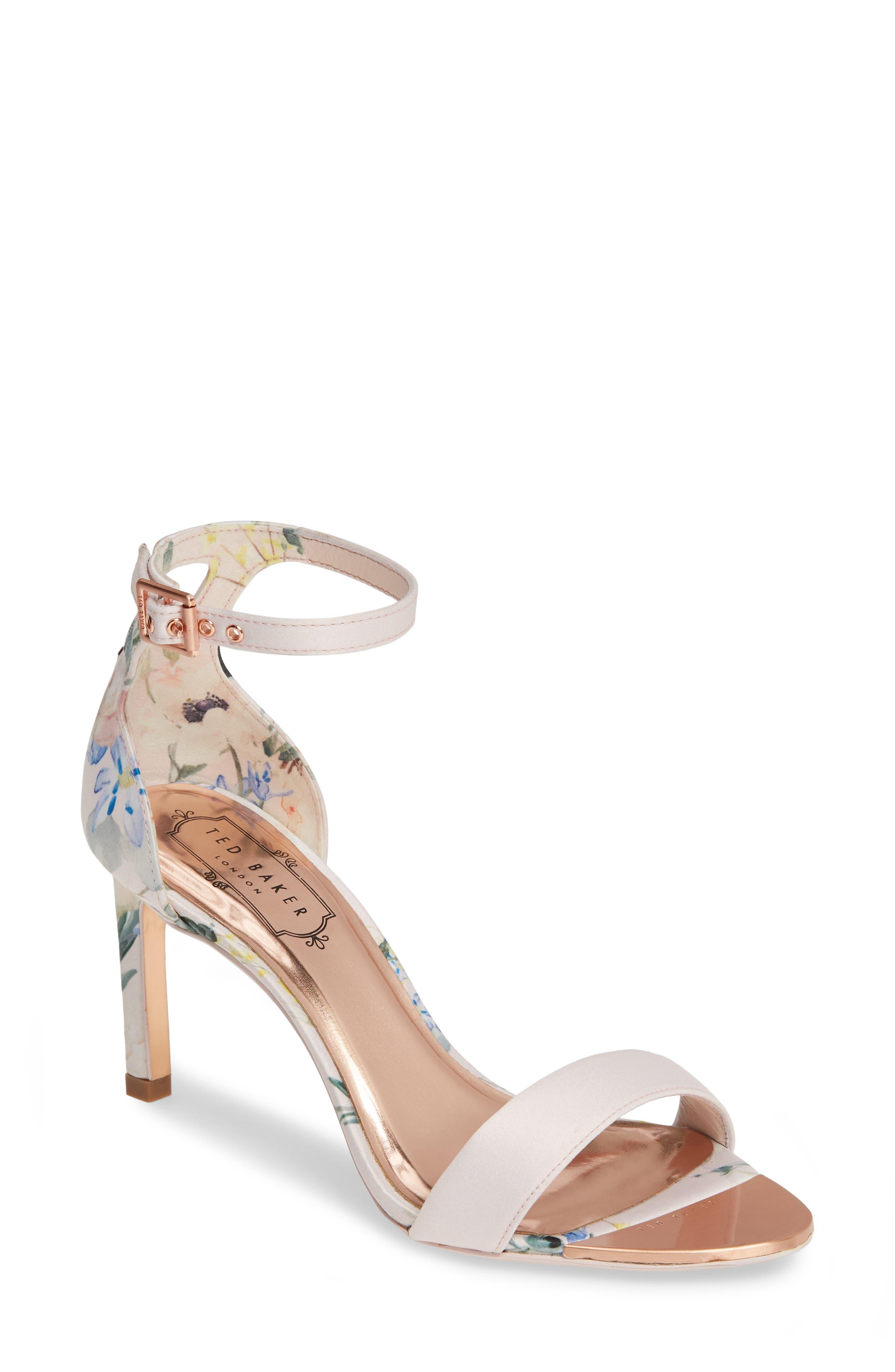 Ted Baker London Ankle Strap Sandal - Pink