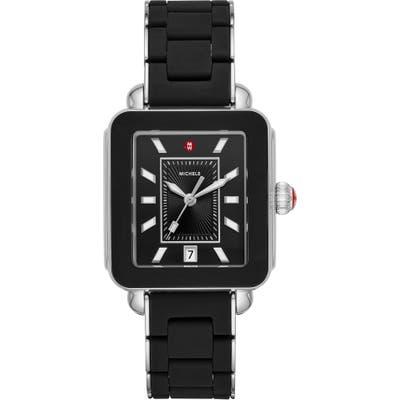 Michele Deco Sport Watch Head & Bracelet, Mm