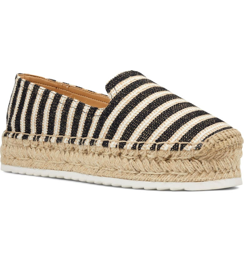 NINE WEST Lucy Platform Espadrille, Main, color, 001