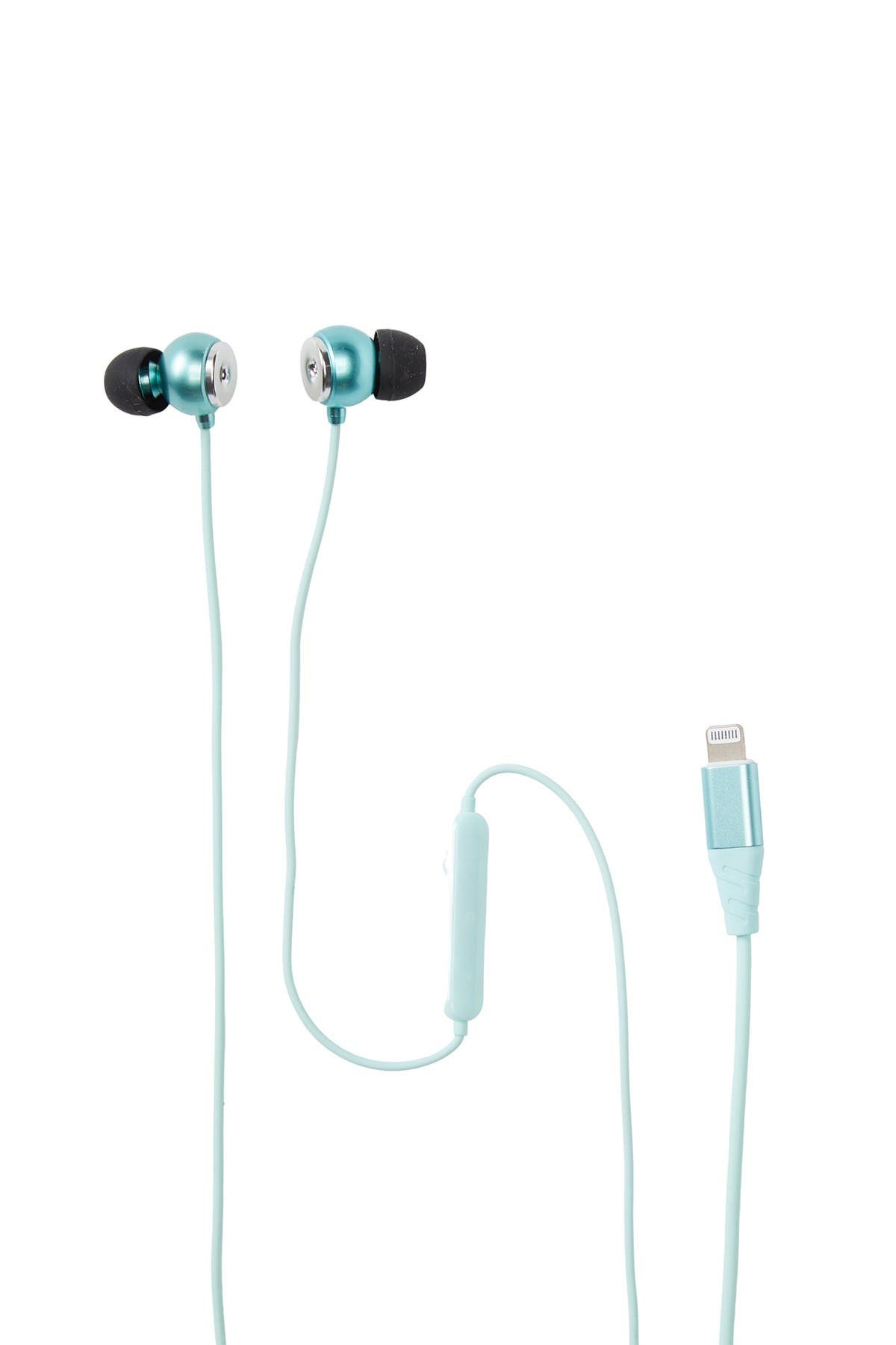 Image of Retrak Wired Ear Buds - Green