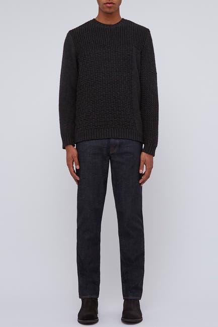 Image of BALDWIN Tierney Crew Neck Wool Sweater