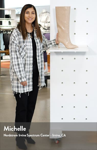Arsen Pointed Toe Knee High Boot, sales video thumbnail