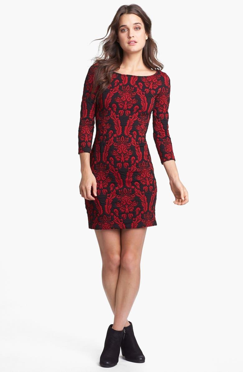 BB DAKOTA Tapestry Print Sweater Dress, Main, color, 635