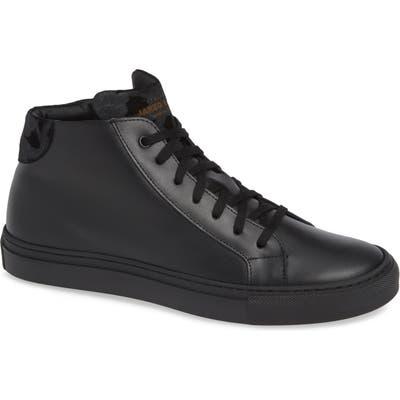 Jared Lang Rome High Top Sneaker, Black