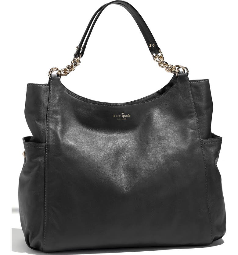 KATE SPADE NEW YORK 'litchfield joelle' leather tote, Main, color, 001