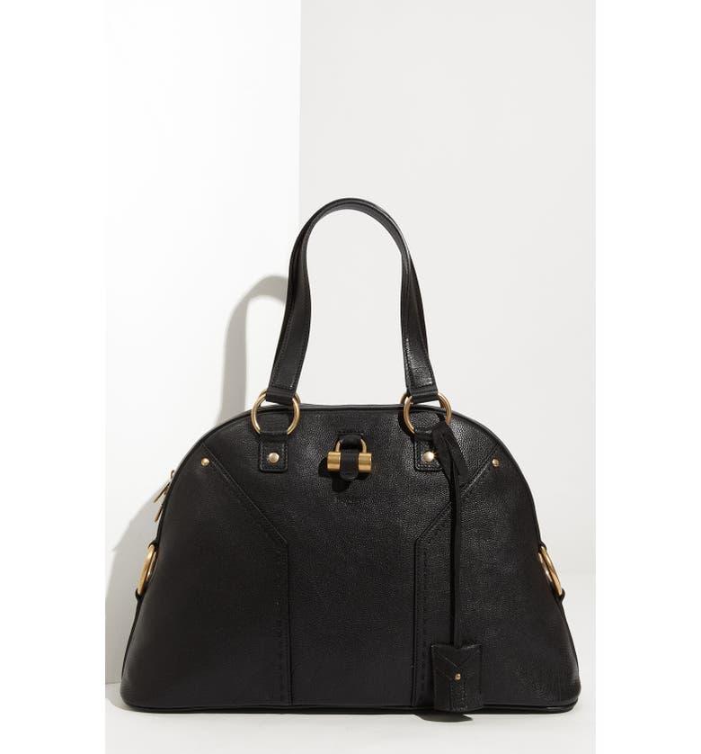 327f62ab3e4 Yves Saint Laurent 'Muse - Large' Leather Dome Satchel, Main, color,