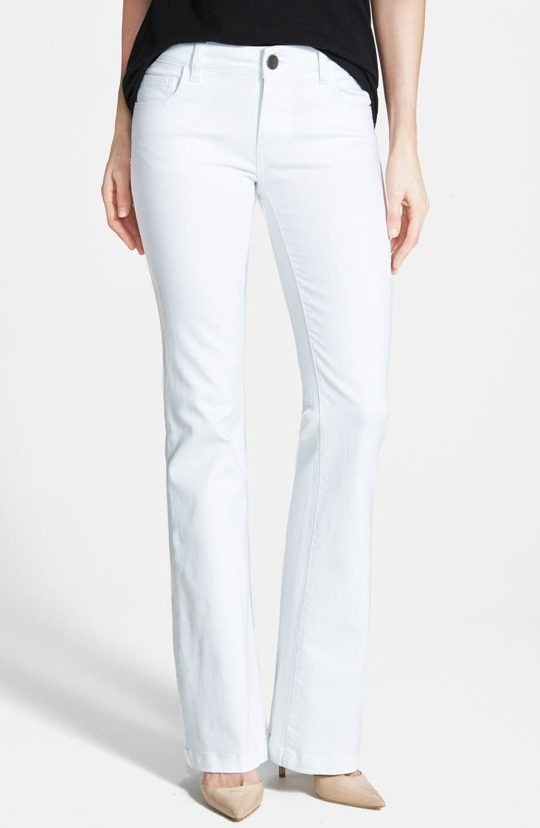 KUT FROM THE KLOTH 'Chrissy' Flare Leg Jeans, Main, color, 100
