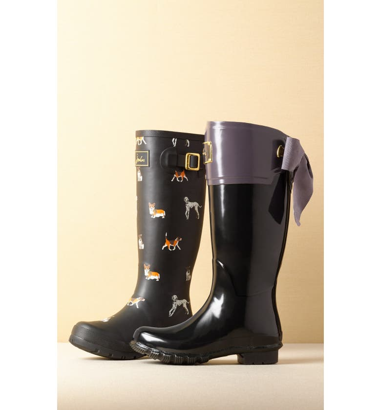JOULES 'Welly'PrintRain Boot, Main, color, 004