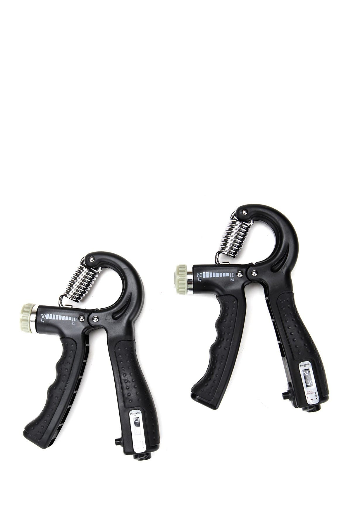 Image of MIND READER Adjustable 22-132 lbs Hand Grip Strengthener with Counter