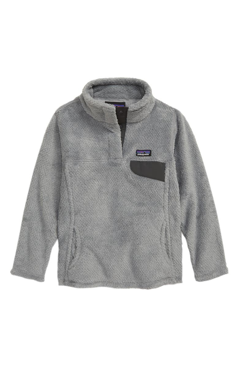 PATAGONIA Re-Tool Snap-T<sup>®</sup> Pullover, Main, color, DARK TAILORED GREY NICKEL