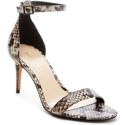 Enzo Angiolini Ahmber Ankle Strap Sandal- Black
