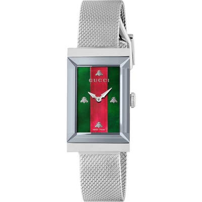 Gucci G-Frame Mesh Strap Watch, 21Mm Mm