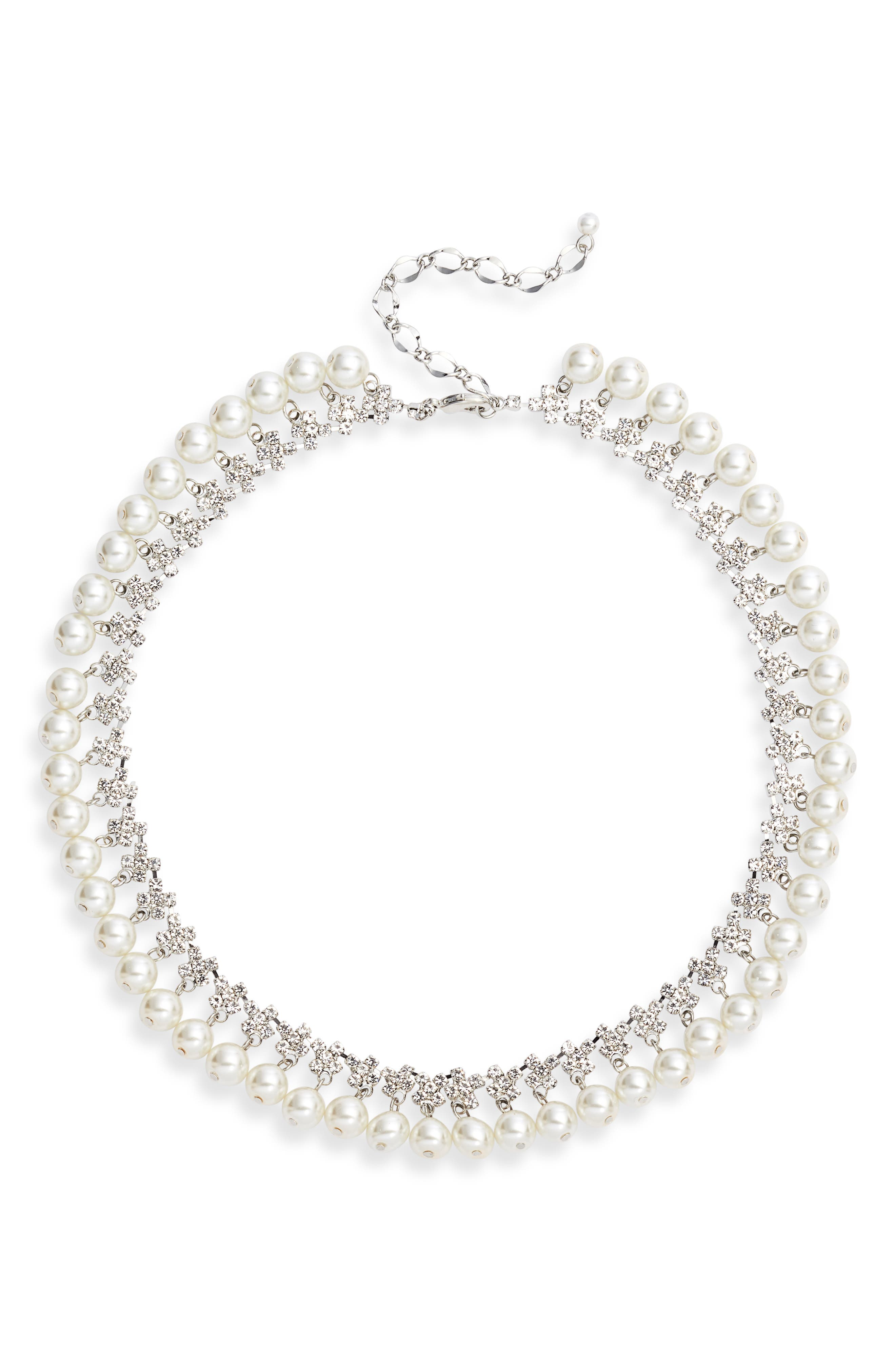 Imitation Pearl Necklace