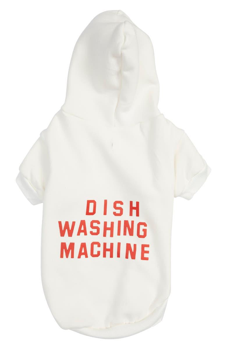 KATIE KIMMEL Dish Washing Dog Hoodie, Main, color, 100