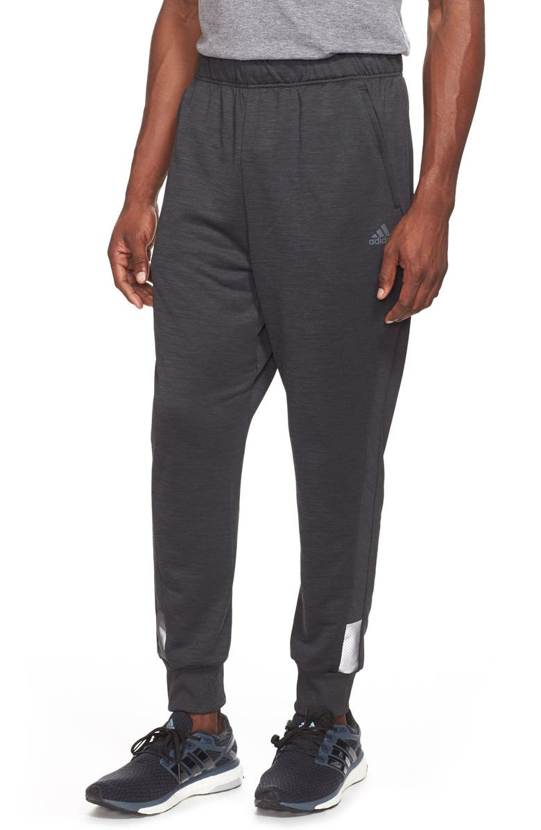 8fa4aaecad53df adidas 'Beyond the Run' Slim Fit CLIMALITE® French Terry Jogger ...