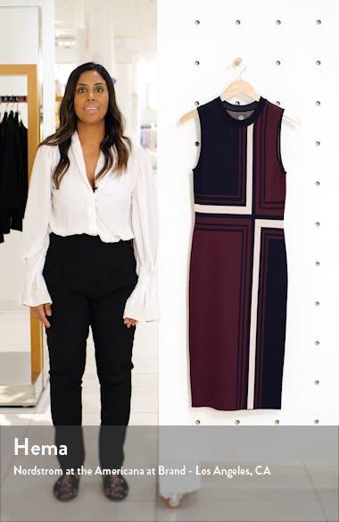 Geo Jacquard Sweater Dress, sales video thumbnail