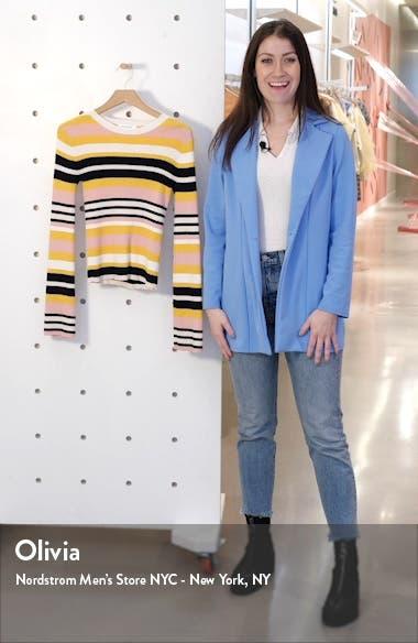 Baja Stripe Cotton & Cashmere Sweater, sales video thumbnail
