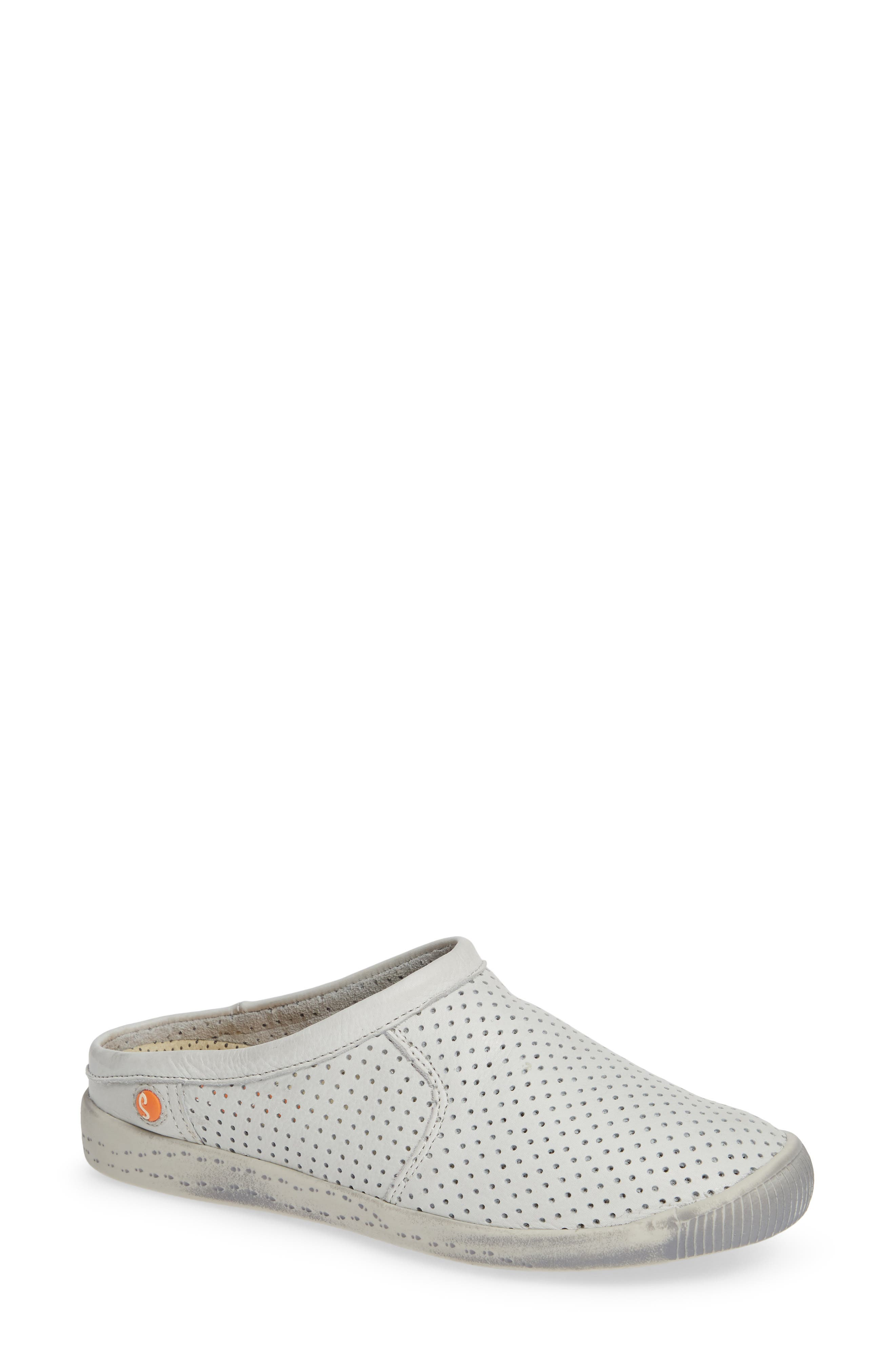 Softinos By Fly London Ima Sneaker Mule - White