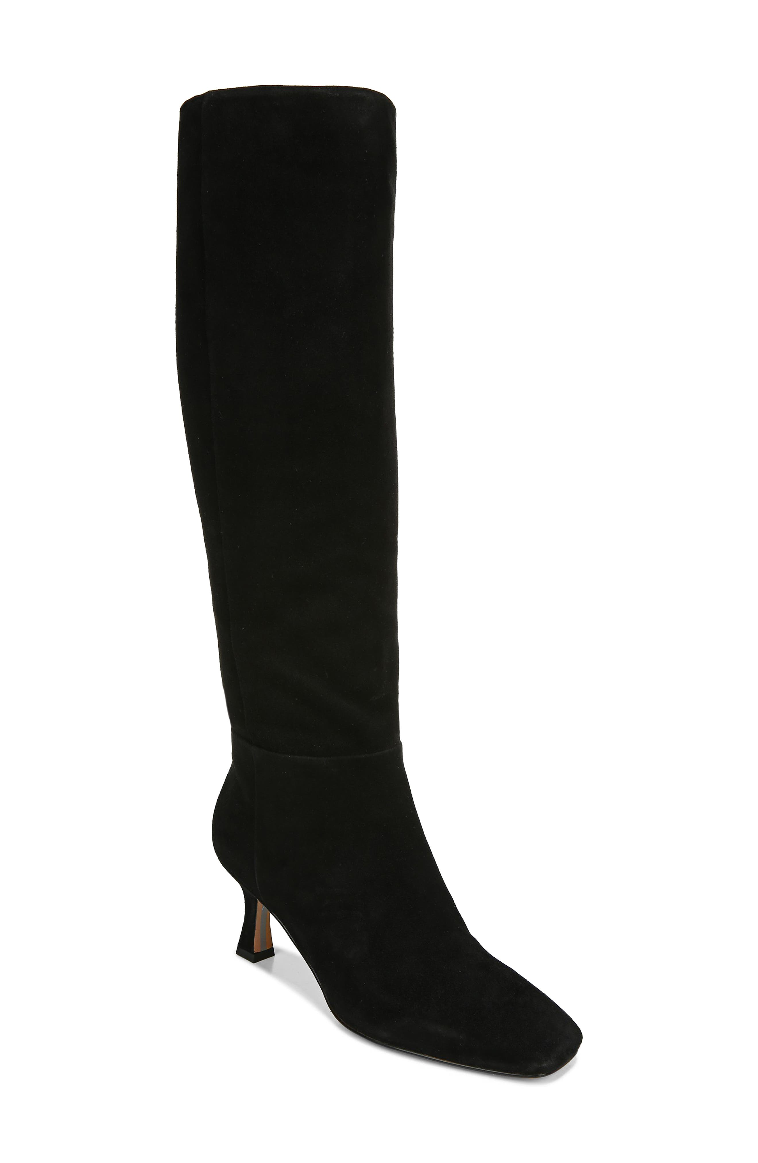 A flared heel adds an extra touch of finesse to a knee-high boot that\\\'s a dramatic addition to your look. Style Name: Sam Edelman Lillia Knee High Boot (Women). Style Number: 6084894. Available in stores.