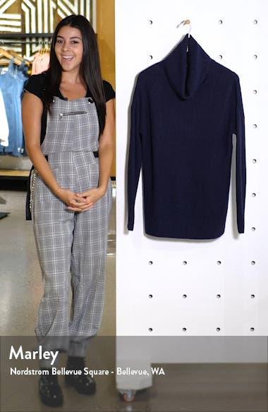 Oversized Turtleneck Tunic Sweater, sales video thumbnail