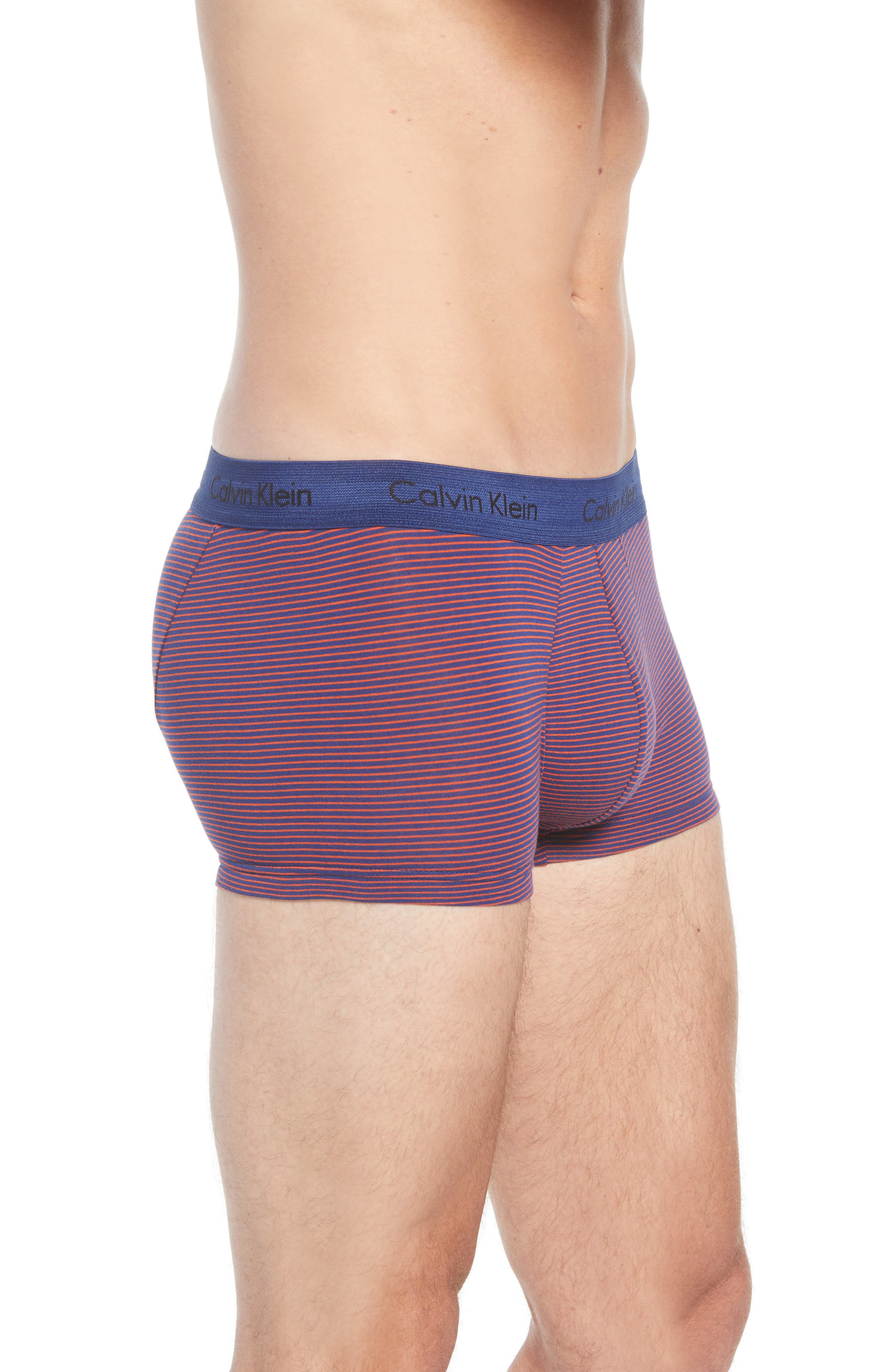 ,                             3-Pack Stretch Cotton Low Rise Trunks,                             Alternate thumbnail 148, color,                             888