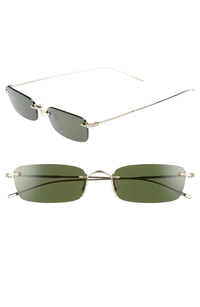 OLIVER PEOPLES Daveigh 54mm Sunglasses, Main, color, 300