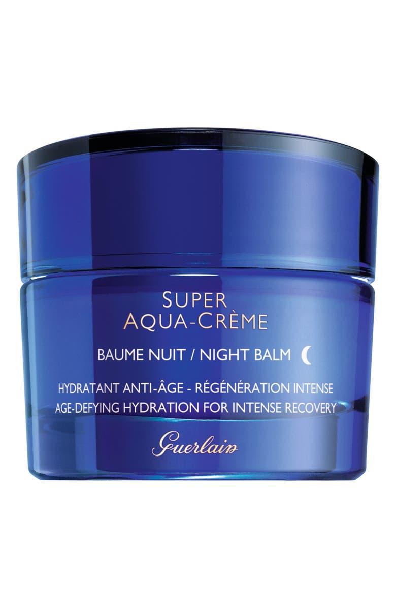 GUERLAIN Super Aqua Hydrating Night Cream Moisturizer, Main, color, NO COLOR