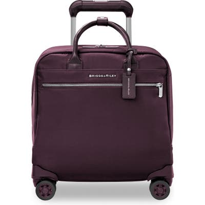 Briggs & Riley Cabin Spinner Carry-On - Purple