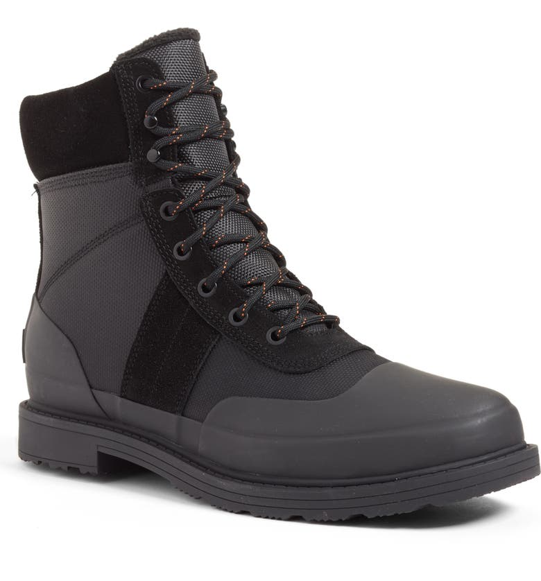 HUNTER Original Insulated Commando Boot, Main, color, BLACK