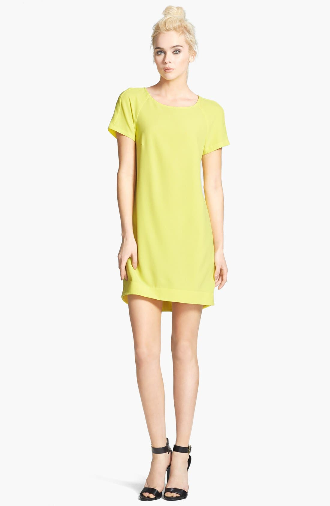 ,                             Crepe Shift Dress,                             Main thumbnail 16, color,                             720