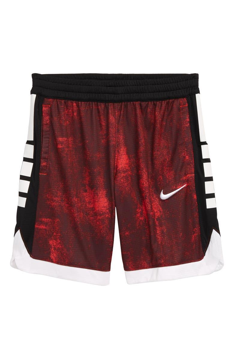 NIKE Dri-FIT Elite Super Performance Athletic Shorts, Main, color, UNIVERSITY RED