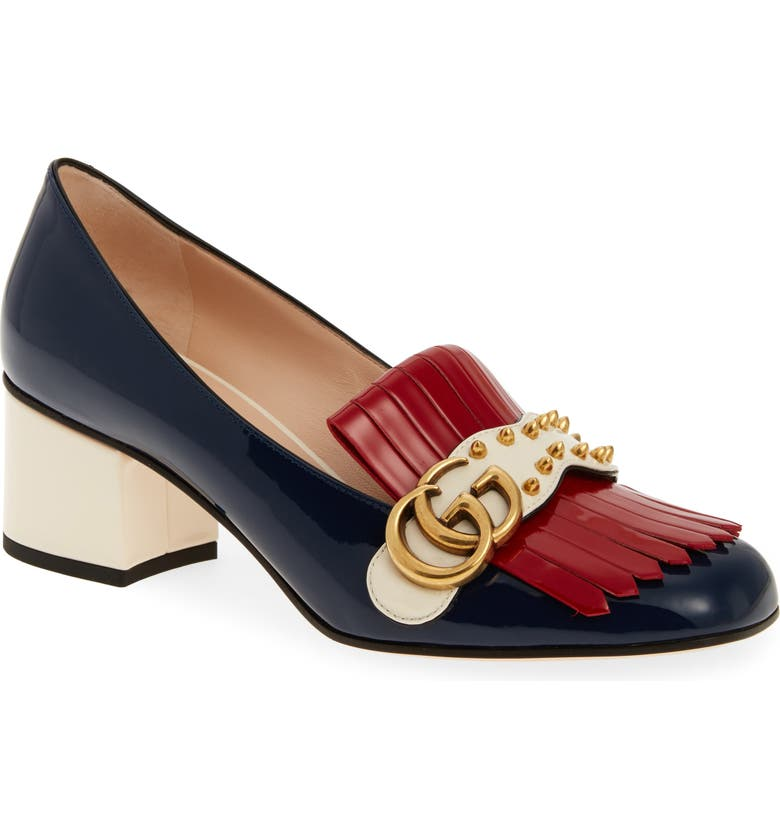 GUCCI Marmont Pump, Main, color, 400