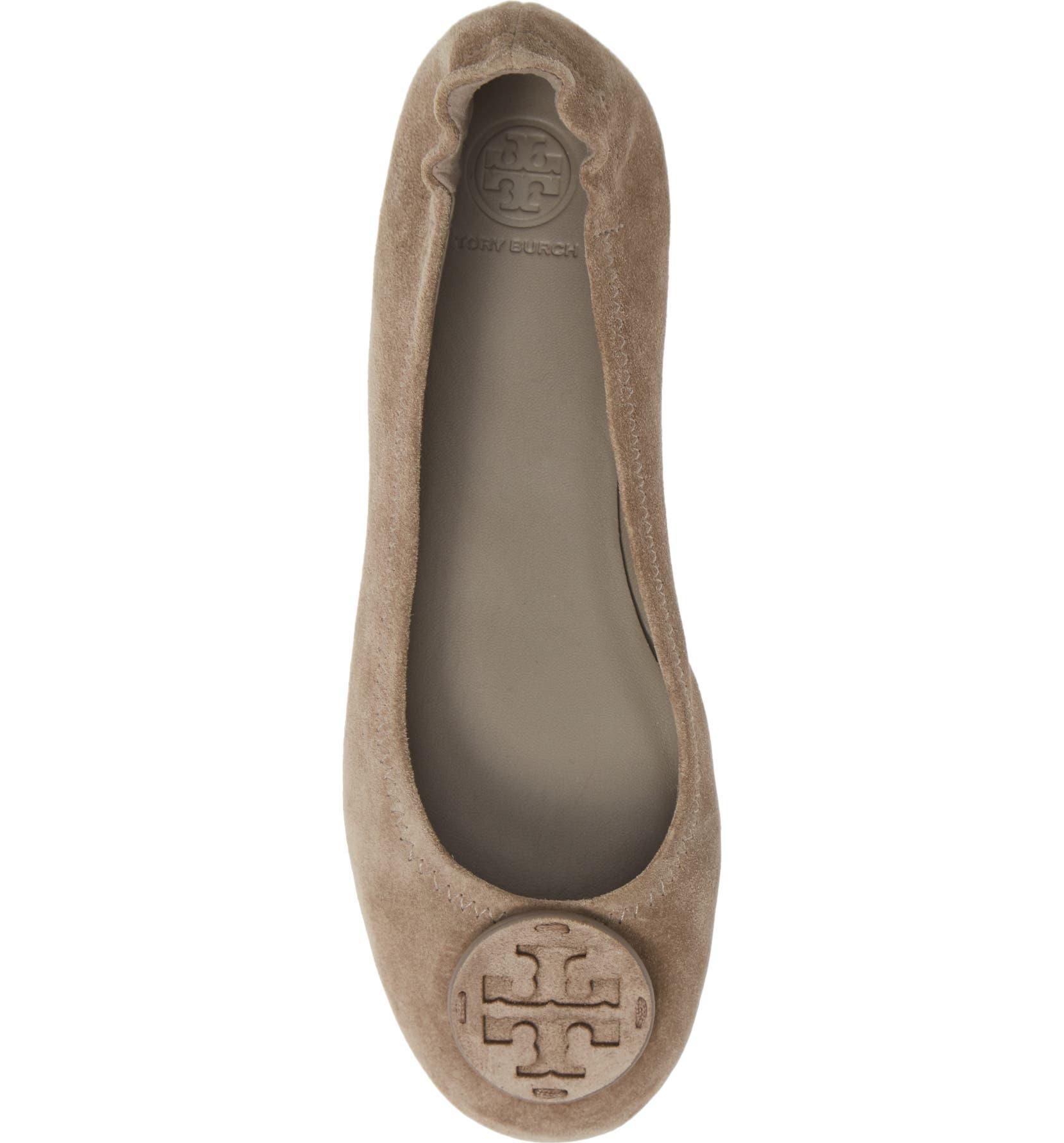 2ba44e06e Tory Burch 'Minnie' Travel Ballet Flat (Women) | Nordstrom