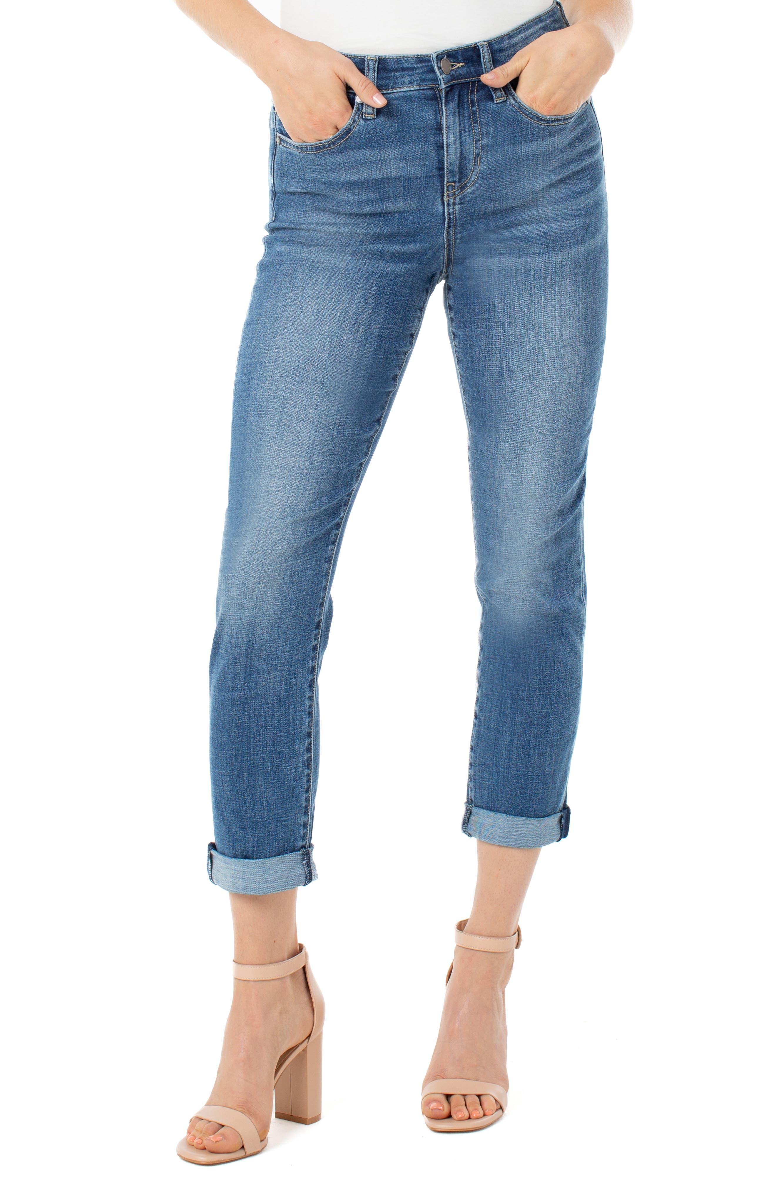 Marley High Waist Girlfriend Jeans