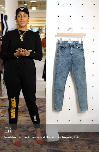 Jamie Acid Wash High Waist Skinny Jeans, sales video thumbnail