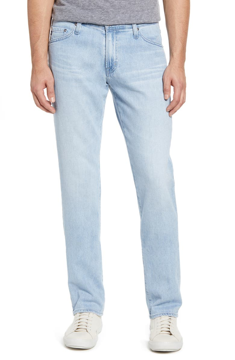 AG Graduate Slim Straight Leg Jeans, Main, color, 493