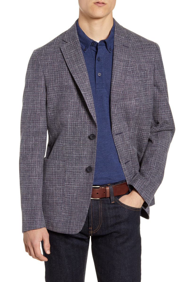 1901 Extra Trim Cotton & Wool Sport Coat, Main, color, 410