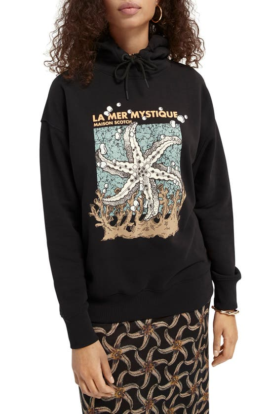 Scotch & Soda LA MER MYSTIQUE GRAPHIC HOODIE