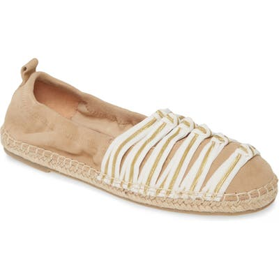 Cecelia New York Knotted Stitch Espadrille, Beige