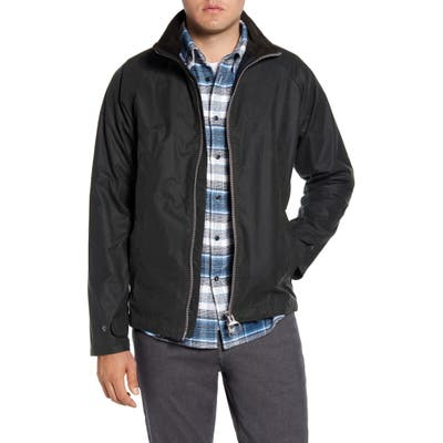Barbour Floccus Waxed Cotton Jacket, Green