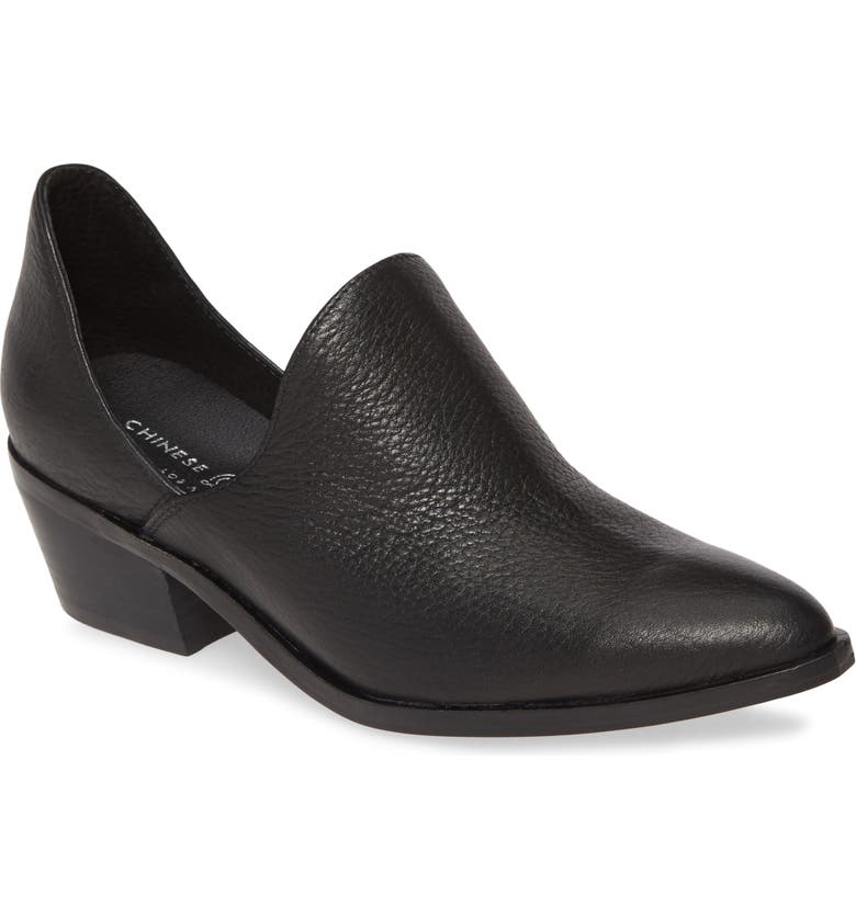 CHINESE LAUNDRY Freda Bootie, Main, color, BLACK LEATHER